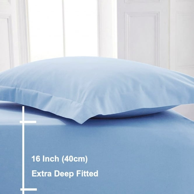 Sleep&Beyond Egyptian Cotton 200 Thread Count Extra Deep Fitted Sheets