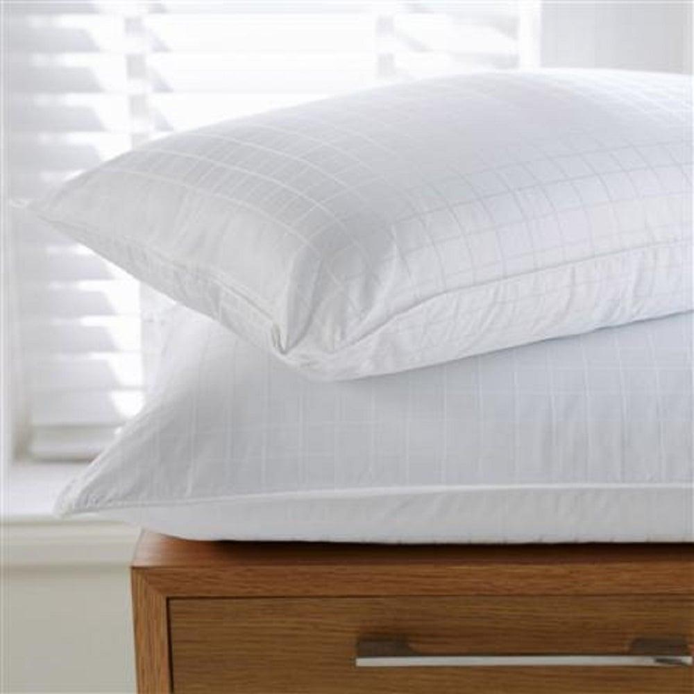 egyptian cotton jacquard bounce back pillows sleep beyond. Black Bedroom Furniture Sets. Home Design Ideas