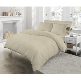 Easy Care 180 Thread Count Percale Duvet Cover Set