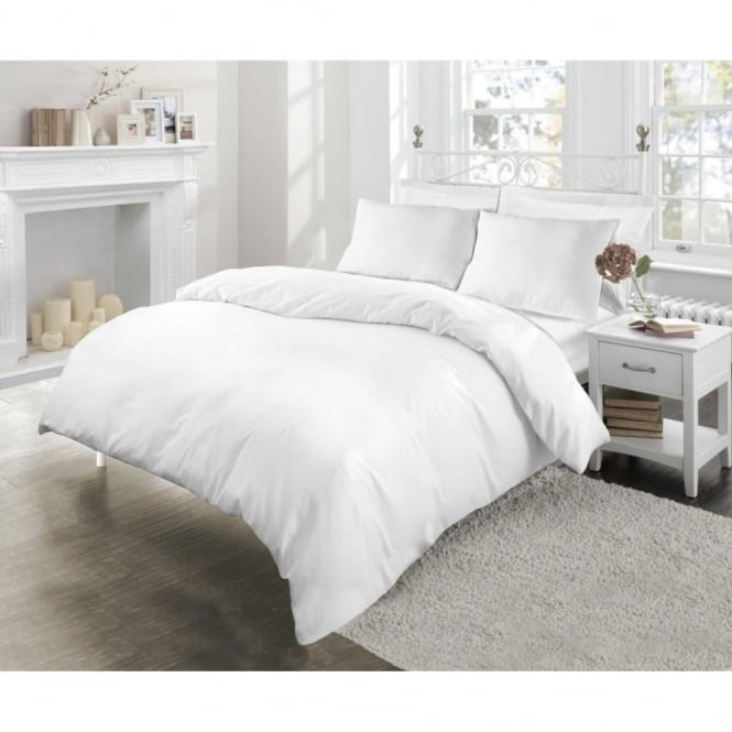 Sleep&Beyond Easycare 180 Thread Count Percale Pillowcases