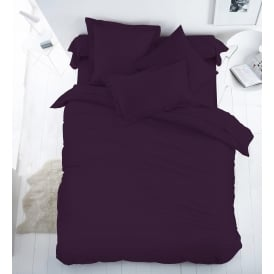 Egyptian Cotton 200 Thread Count Percale Duvet Cover Set