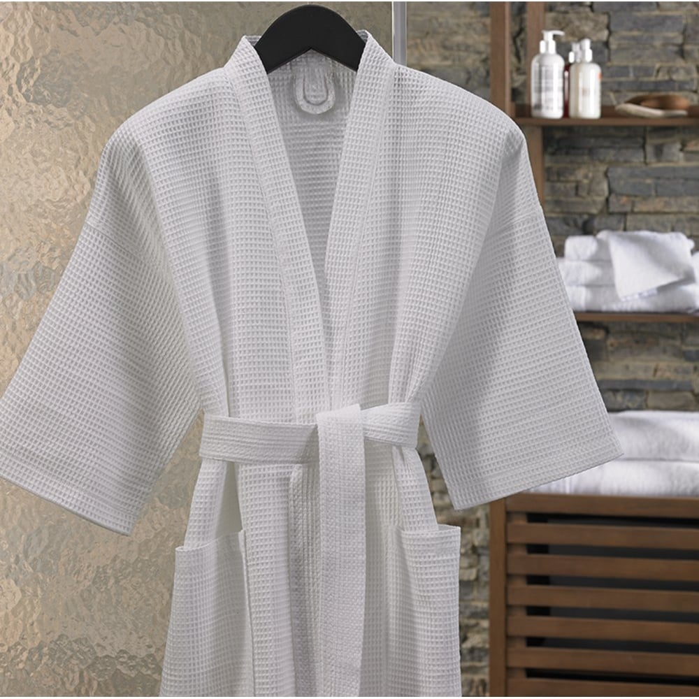 Waffle Bathrobes For Hotels Amp Spas Sleep And Beyond