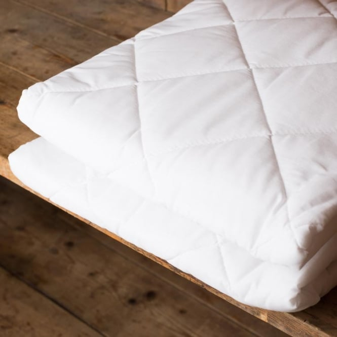 Sleep&Beyond Poly Cotton Quilted Mattress Protector