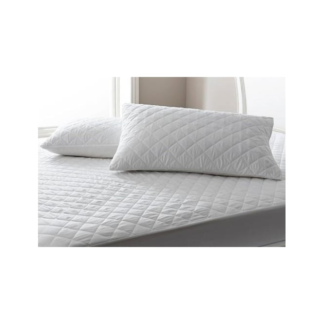 Sleep&Beyond Poly Cotton Quilted Pillow Protectors